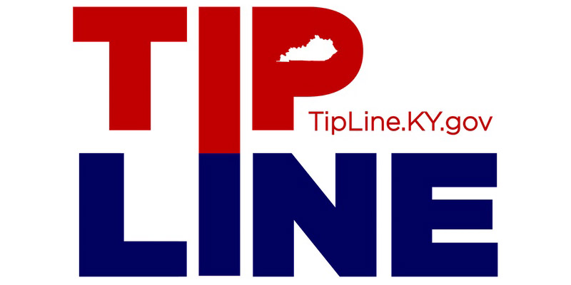 Logo link to the TipLineKY.gov