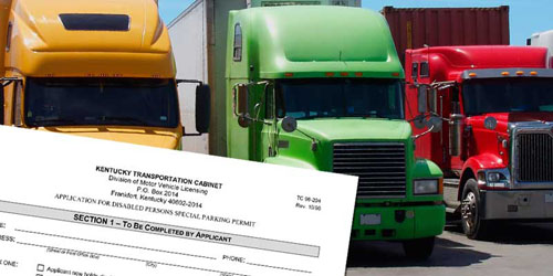 352 motor carriers filed their kentucky highway use kyu for Motor carrier permit application